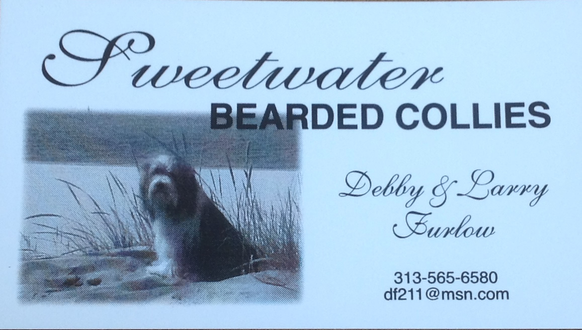 Sweetwater bearded collie club of america for Sweetwater affiliate program